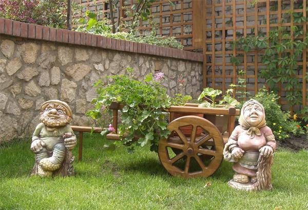 Гномы в сад своими руками